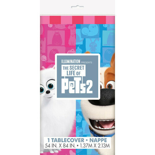 The Secret Life of Pets Jointed Birthday Banner