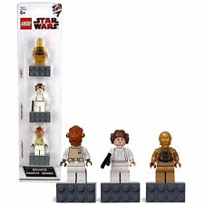 Lego Star Wars C-3PO, Princess Leia, & Admiral Ackbar Minifigures Magnet 852843