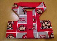 Ohio State Dog Handmade Harness Vest Xxxs 317, Xs 319-320 $20