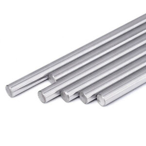 8mm Chromed Smooth Rod Linear Rail Shaft Steel Bearing 250-600mm 3D Printer CNC