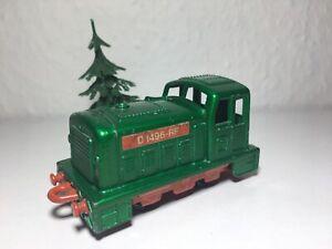 Matchbox-Eisenbahn-Lok-Nr-24-Shunter-D-1496-RF-Zug-RAIL-TRAIN-GRUN-Railway