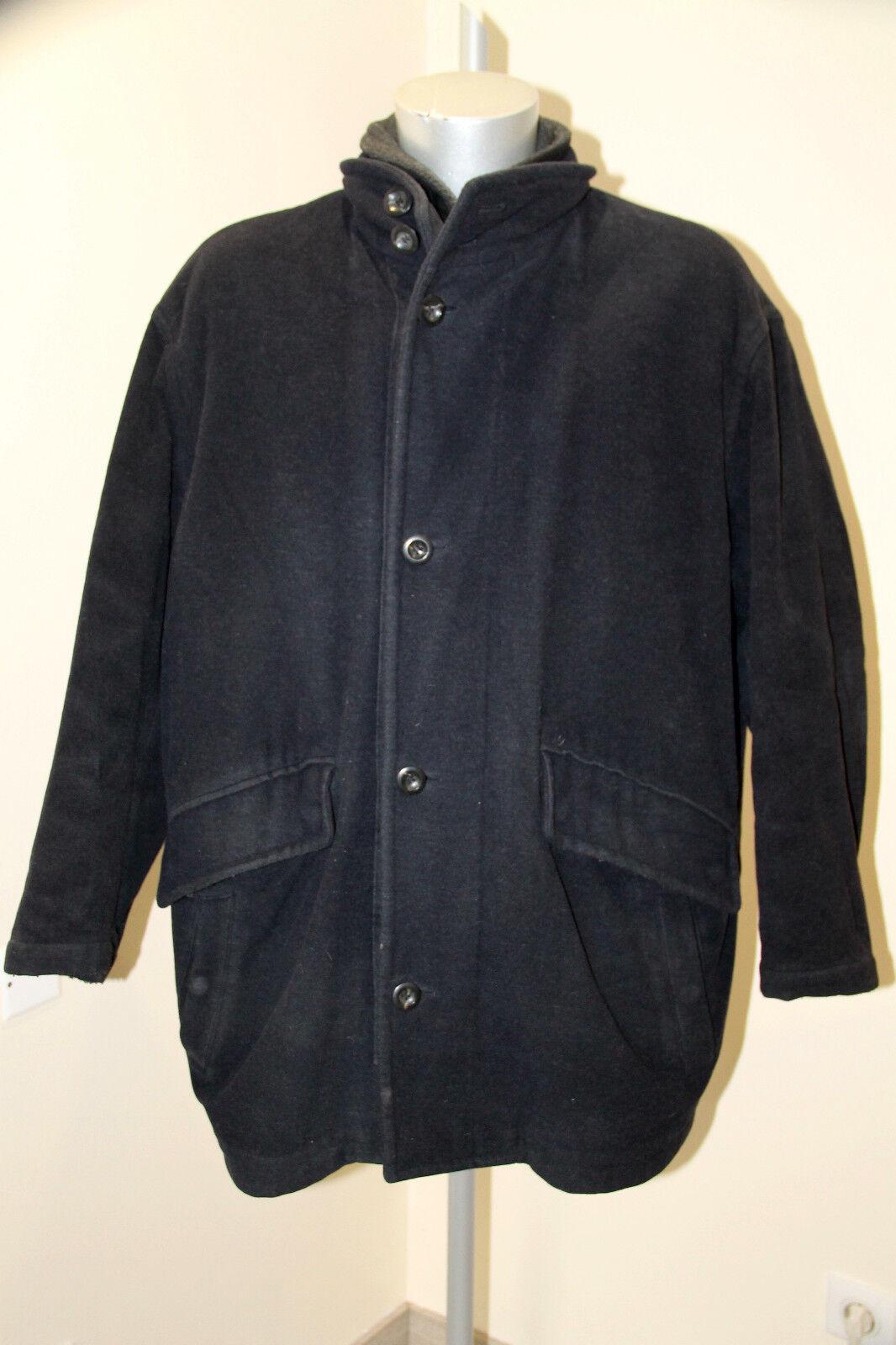 Luxueux manteau laine marine homme HUGO BOSS punga size 50