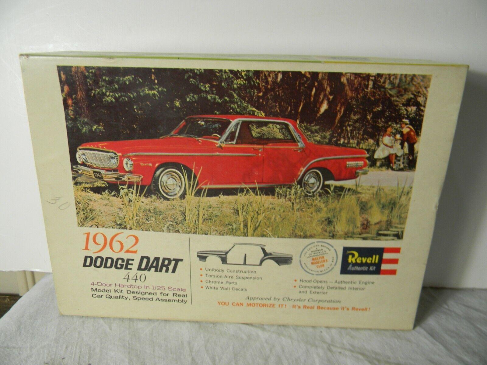 Revell 1962 Dodge Dart 440 4 Door Hardtop For Sale Online Ebay