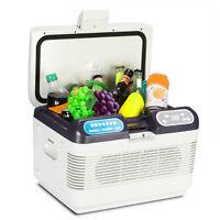 Hot 12l Mini Portable Dual-core Refrigeration Fridge Truck Car Home Cooler Box