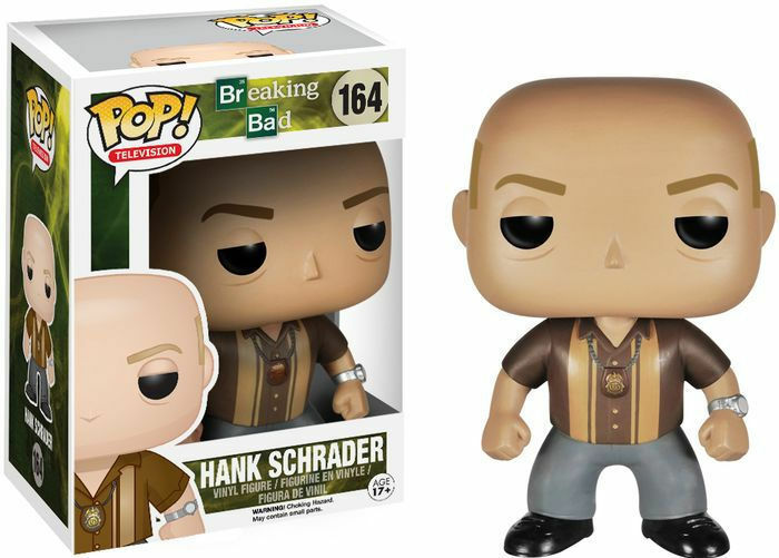 FIGURE BREAKING BAD HANK SCHRADER 9 CM POP FUNKO SERIE TV SEASON HEISENBERG  1