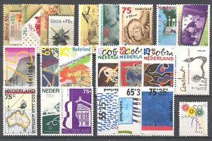 NL - NETHERLANDS 1988 complete year set MNH