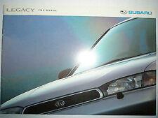 Subaru Legacy brochure c1993