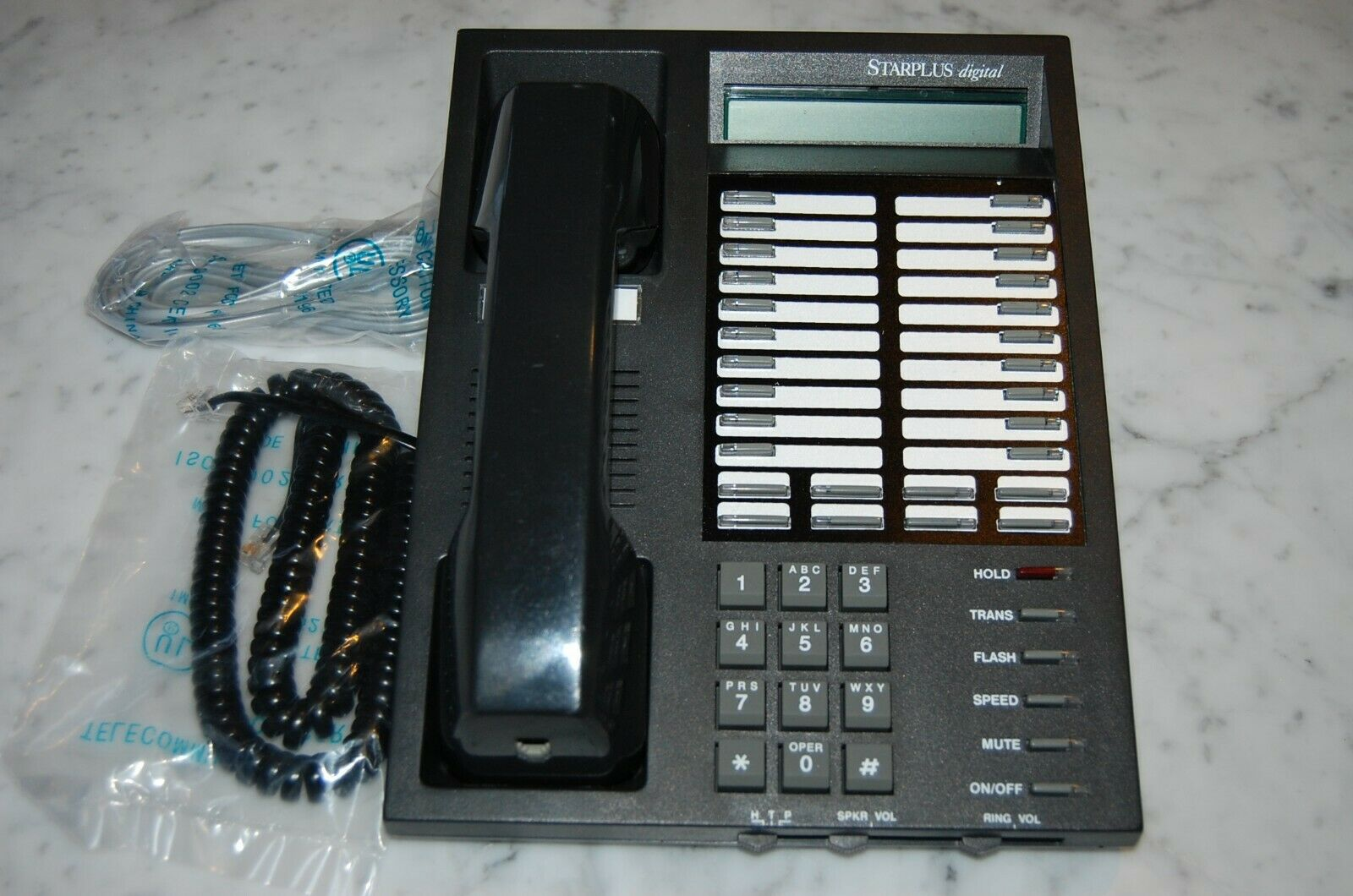 Telecom Systems Vodavi Starplus SP1414-71 Digital Display Phone ...
