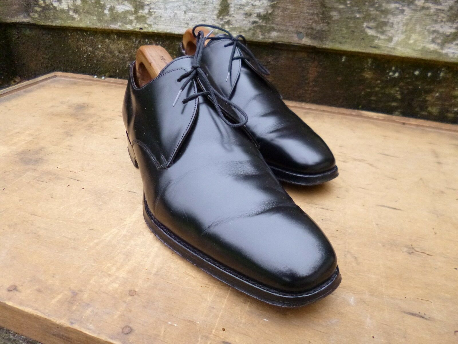 CHEANEY / CHURCH ( GIBSON GIEVES & HAWKES ) GIBSON ( – BLACK - UK 7 – EXCELLENT CONDITION fca34c