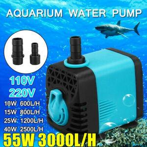 600-3000L-H-Water-Pump-Submersible-Aquarium-Pump-Fish-Pond-Tank-Sump-Fountain