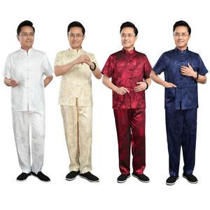 Kung-Fu-Anzug-Herren-Traditionelle-Chinesische-Kleidung-Kampfkunst-Kostueme