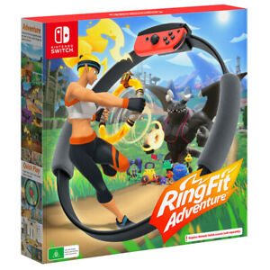 Ring Fit Adventure Switch Game NEW