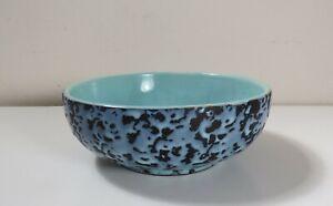 Vintage-McCoy-Pottery-Blue-Brocade-Serving-Bowl-1956