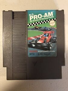 Vintage Original Tested Nintendo Nes Rc R C Pro Am Racing Video Game Cartridge Ebay