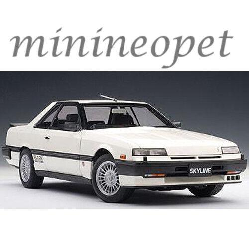 AUTOART 77427 Nissan Skyline 2000 Turbo Rs-X DR30  1 18 Voiture Modèle Blanc  meilleurs prix
