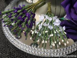 Purple white scottish traditional artificial heather flower image is loading purple white scottish traditional artificial heather flower buttonhole mightylinksfo