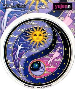103 Dan Morris Celestial Yin Yang Sun Moon 4 12 Sticker 714 Ebay