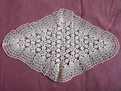 Purposeful #1295 Beautiful Vintage Hand Made Doily 29cm/19cm 11.5''x7.5'' Top Watermelons