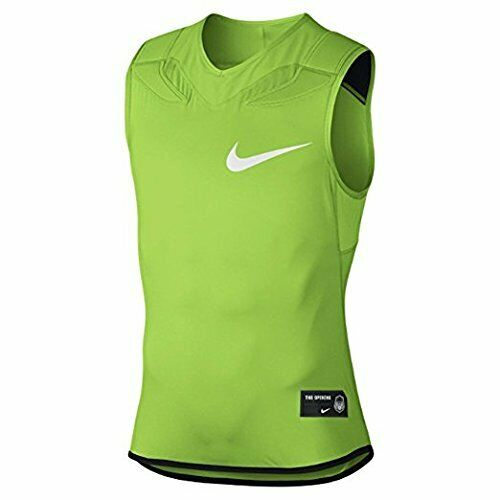 db014de9553d97 Nike Dri-fit Sleeveless The Opening Padded Football Under Shirt XL Green for  sale online