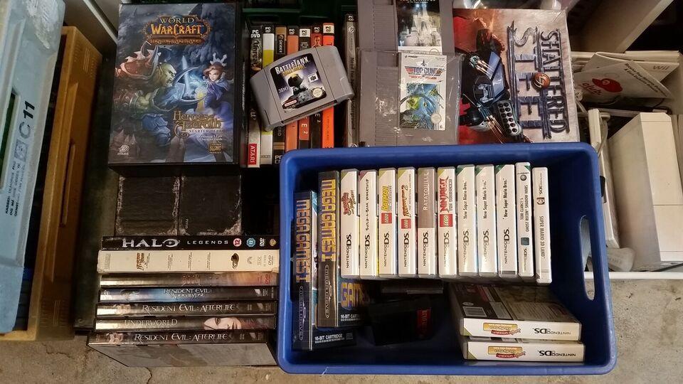 Overskudslager - Xbox - PS - SEGA - Nintendo - PC, Sega master