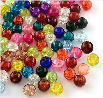 10mm /& 12mm ou mixte sac B12 50 x rond argile polymère fimo perles Tailles 8mm