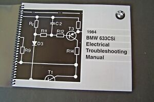 Details about 1984 Bmw 633csi Owners Electrical Troubleshooting Service on bmw 645 csi, bmw 3.0 csi, bmw 850 csi, 1982 bmw csi, bmw 8 series csi, bmw 325 csi, bmw 630 csi, bmw 628 csi, bmw m635 csi, bmw 635 csi, bmw 840 csi, 1976 bmw csi, bmw 633 cs,