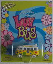 "Johnny White Lightning – VW T1 Samba gelb/weiß ""Luv Bus"" mit Surfboards Neu/OVP"