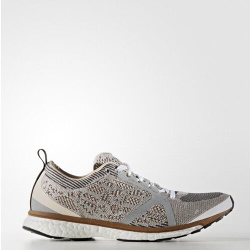 Adidas AQ2673 Women Stella McCartney Adios Running shoes silver grey sneakers