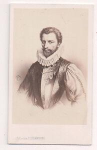 Vintage-CDV-Henry-I-Prince-of-Joinville-Duke-of-Guise-E-Desmaisons-Phot