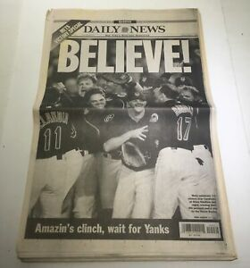 NY-Daily-News-10-17-2000-Mets-Celeb-Victory-Over-Cardinals-Excellent-Condition