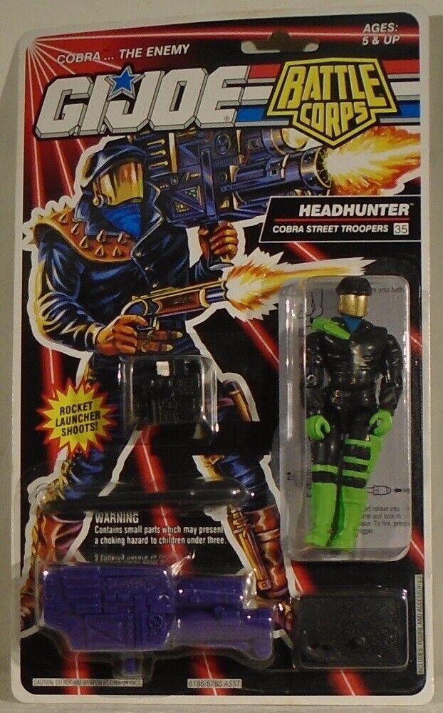GI Joe battaglia Corps Headhunter Cobra Street Troopers cifra  35 Hasbro 1992 MOC