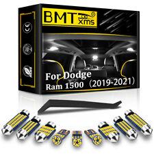 17x White Led Interior Lights Package Kit For 2019 2021 Dodge Ram 1500 2500 3500