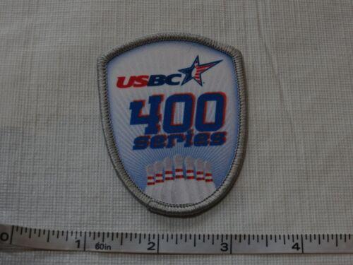 USBC United States Bowling Congress 400 series patch award USA ADULT league kids
