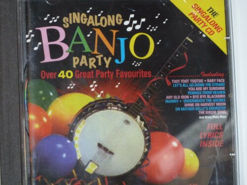 1 of 1 - Singalong Banjo Party...40 Great Party Favourites.