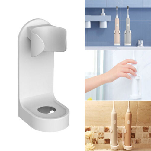 Electric Toothbrush Holder Traceless Stand Rack Organizer Wall-Mounted HolderBW
