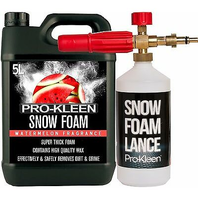 NILFISK PRESSURE WASHER SNOW FOAM LANCE WATERMELON SNOW FOAM CAR SHAMPOO WAX