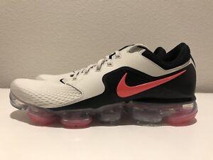 cddd92153573 Nike Air VaporMax Running SZ 10 AH9046 001 LIGHT BONE HOT PUNCH ...