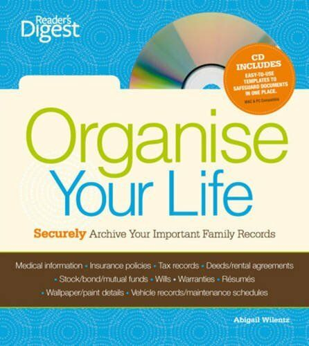 Personal Records Organiser (Readers Digest) By Reader's Digest