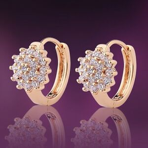 White-sapphire-18K-gold-filled-promising-Cool-jewlery-LADY-HOOP-earring