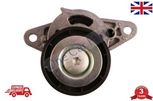 Cinghia Del Ventilatore Puleggia Tensionatore-v-Cintura a costine Tendicatena per adattarsi RENAULT KANGOO 1.6 16V