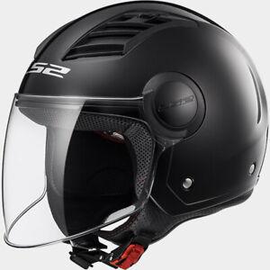Casque-LS2-Helmet-Airflow-OF562-Noir-Brillant