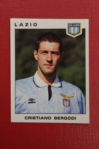 Panini Calciatori 1991//92 N 193 LAZIO BERGODI EDICOLA!!!
