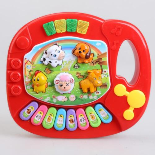 New Baby Kid Music Educational Animal Farm Piano Developmental Music Toy Gift 5H