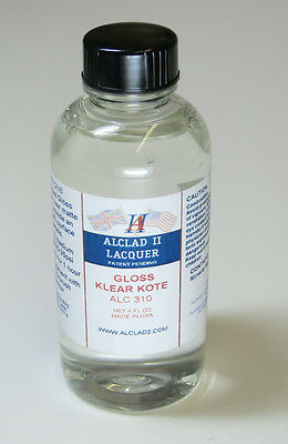 Alclad II Lacquer Gloss Klear Kote Paint 4oz ALC310 310 Airbrush Ready Paint