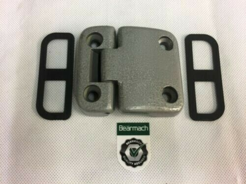 Bearmach Land Rover Defender LHS Door Hinge x 1 /& Shims x 2 VIN FA470489 onward