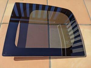 OEM Toyota FJ Cruiser Left Rear Driver Door Glass Window Small Storage Scratches
