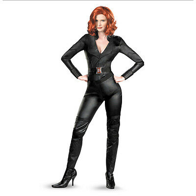 Black Widow The Avengers Adult Women Deluxe Costume Disguise 43676