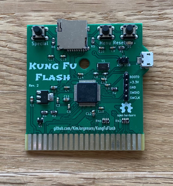 Kung Fu Flash, Commodore 64/128, Nyt Trendy Kung FU Flash…