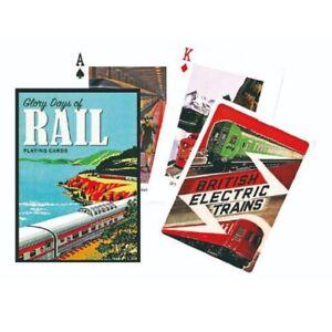 Piatnik Glory Days of Rail Single Deck of Playing Cards  1671