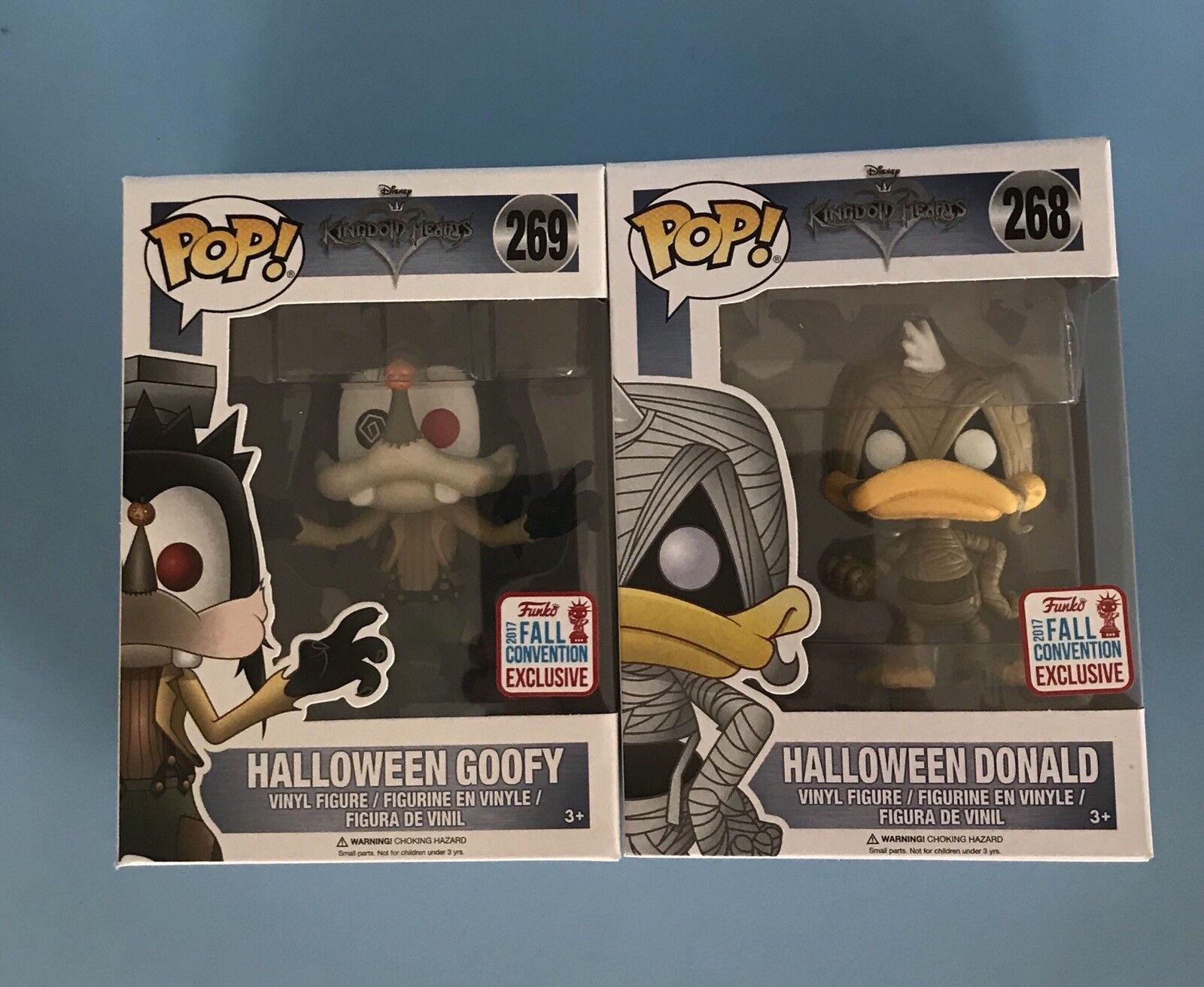 Halloween DONALD Halloween PIPPO FUNKO POP VINYL caduta convenzione esclusivo